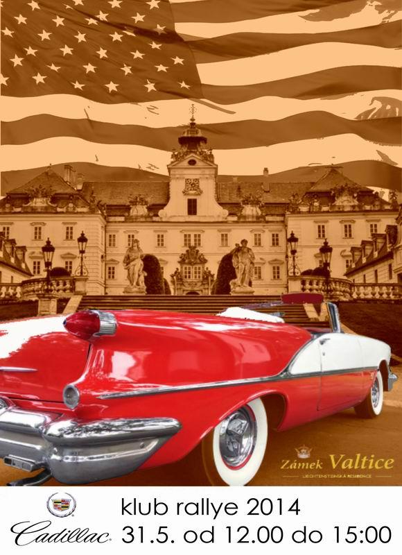 Změněná velikost Cadillac klub rallye
