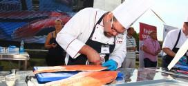 David Grandič z Bořetic byl třetí  na šampionátu ve filetování lososa