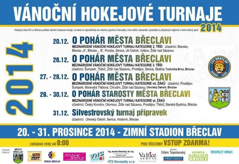 HC Lvi  - plakát Vánoční turnaj 2014