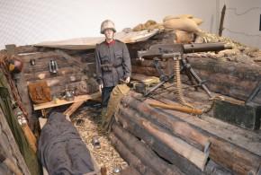 V muzeu je Velká válka